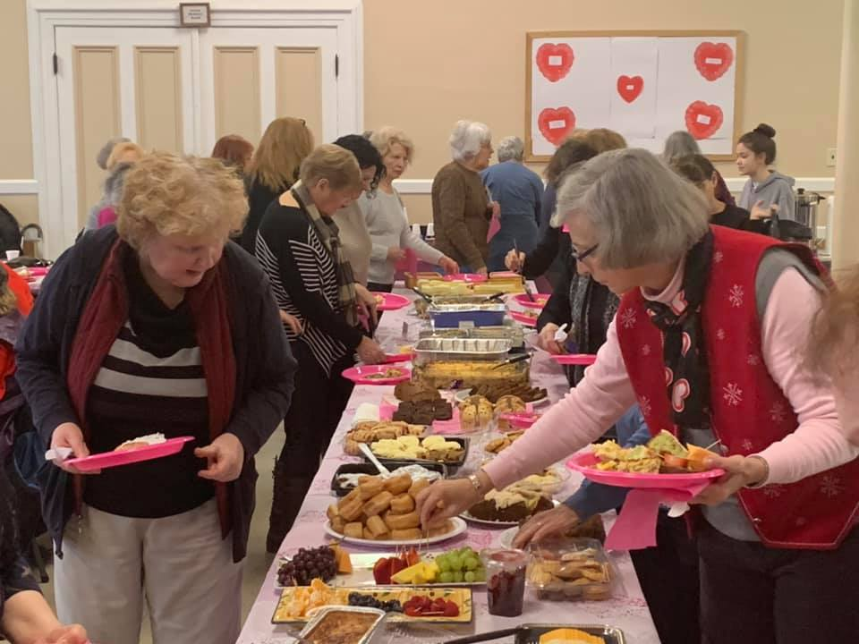 February 2019 ladies' breakfast