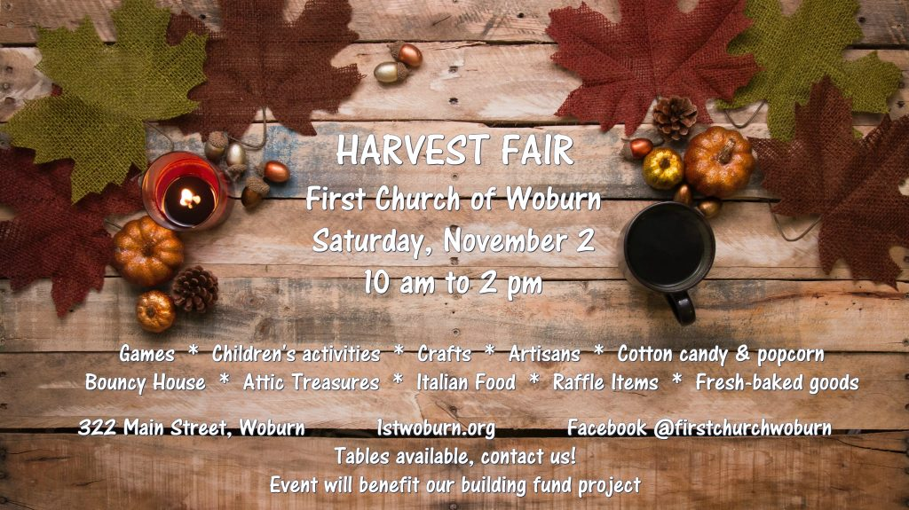 First Church of Woburn Harvest Fair